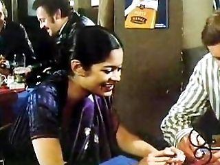 Indian damsel in 80s German porno movie