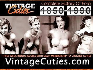Mature Honies Dance in Lingeries and Stockings (Antique)