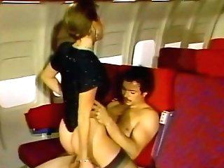 Youthfull Air Hostess Fucked On Air
