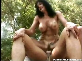 Anna Malle fucked by two guys in the culo