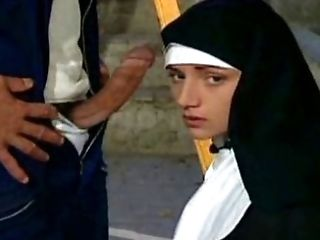 Dirty nuns have lovemaking with priests