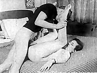 Antique Pornography 1950s - SPYCAM Fuck