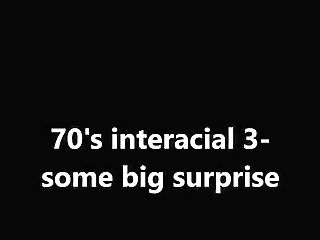 70's Interracial Three-some Big Surprise
