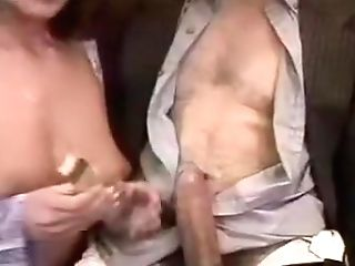 Buxom Italian Crimson Head Kittles His Pickle