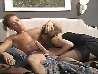 1970s Nylon Porn - Nice blonde in stockings is horny after all