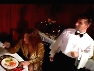 French antique porno movie with a kitchen theme