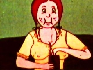 Hilarious antique toon porno