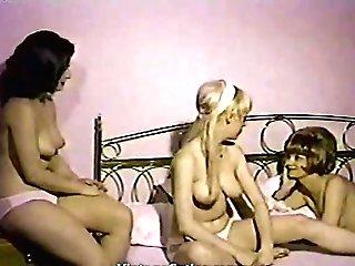 Watching Nude Femmes Thru The Window (1960s Antique)