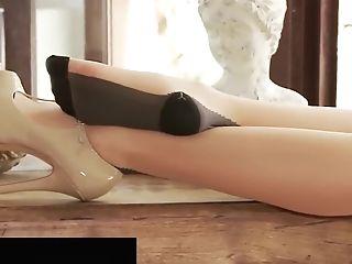 Penthouse Pet Jelena Jensen In A Foot Worship Pantyhose Flick