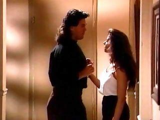Selena Steele blows a boy in the hallway