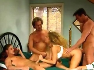 Kim Chambers deep jaws group sex and anal invasion