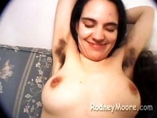 Old-school Rodney Moore with Becky Hairy Puss and Armpits