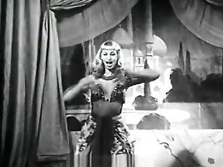 Sexy Blonde Stunner Dancing Striptease