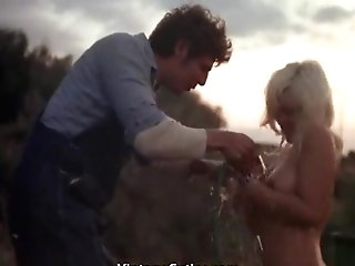 Beautiful Nude Blonde Hosed Down And Fucked (1970s Antique)