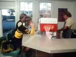 Cheerleader at the Malt Shop