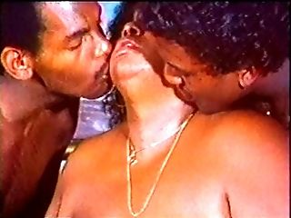 Two black guys plow fat black chick