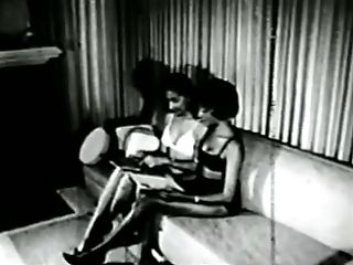 Black dolls in 1960s spanking-restrain bondage SandM fetish stag film