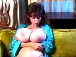 Big tits in blue undergarments