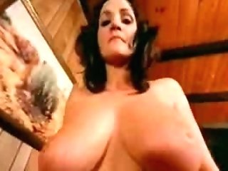 Antique Point Of View Enormous Natural Boobies Railing Slow-mo