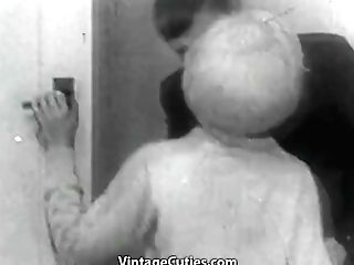 Masturbating And Getting Fucked Tonight (1950s Antique)