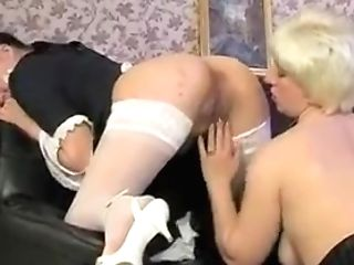 Incredible Homemade Girl-on-girl, Maid Lovemaking Clip
