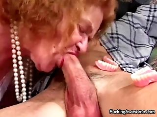 Granny Gets The Fuck-a-thon She Covets