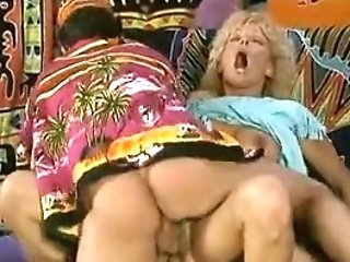 Two Fuck-sticks Share A Buxom Blonde...