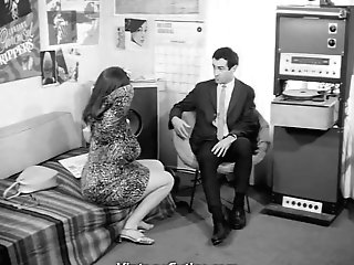 Office Clerk Attempts To Find Love (1960s Antique)