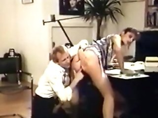 Chief Gets Fucked In Stockings And High-heeled Slippers