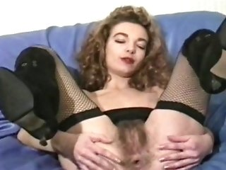 Antique French Hairy Ass-fuck Faux-cock