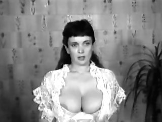 Cock Ball Torture Big Tits Old School Retro Antique 50's Black&milky Nodol2