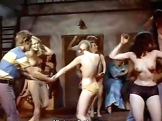 Late Night Bare-chested Ladies Dance (1960s Antique)