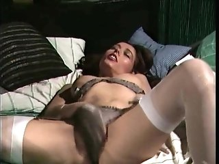 Retro Classic - Satin panties masturbation