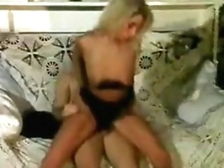 Blonde Horny Cockslut Getting Sated