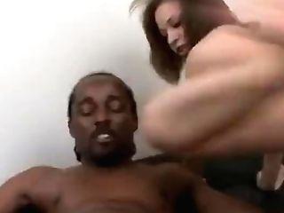 Tia Sweets Dirty Talkin' Dark-hued Big Black Cock Ass-fuck Mega-bitch