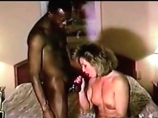 Cuckolf Mummy Railing Big Black Cock Hubby Wimp Cleans Up After Bull