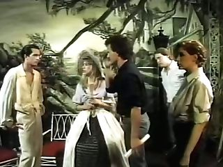 Amazing Old School Scene With Paul Thomas And Alec Frederick