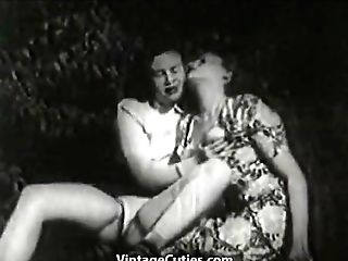 Two Women Eat Snatch Outdoors 1930s (1930s Antique)