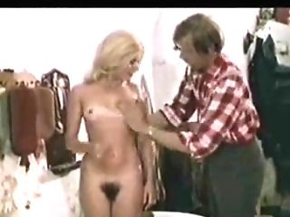Horny Country Man Touches Puny Tits Of Slender Nubile