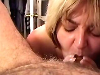 First-timer Mummy Wifey - Sucking Salami & Drinking A Explosion Of Jism