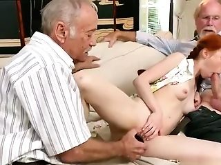 Old Time Antique And Old Man Asian Female And Old Man Student And Exotic Old