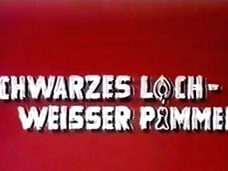 Antique 70s German - Schwarzes Loch, Weisser Pimmel - Cc79