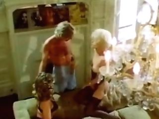 Antique Blonde Threesome