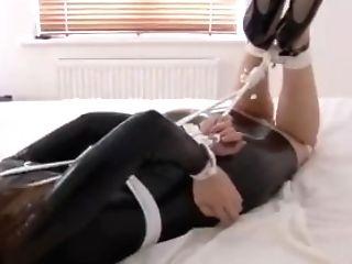 Spandex Restrain Bondage