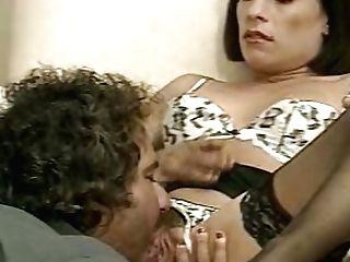 Italian Retro Dark Haired Witnesses Her Beau Fucking Hard Retro Blonde