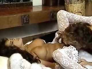 Beautiful Lady In Retro Porno Movie