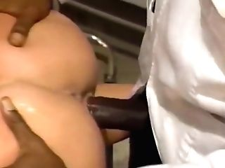 Louise Hodges Fucked By Big Black Man Meat - Butt's Up Doc Scene 1