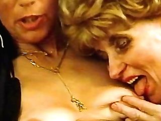 Bitchy Retro German Ladies In Hot Underwear Are Fucking Hard With Youthfull Guys