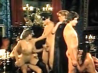 Rasputin - Orgien Am Zarenhof (1983) Group Orgy Scene