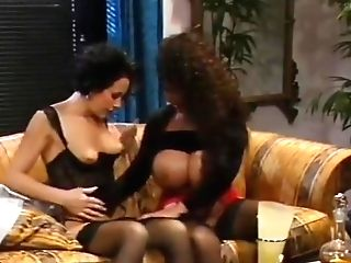 Big-titted German Girl-on-girl Scene